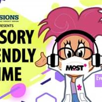 Sensory Friendly Time presented by Visions Federal Credit Union