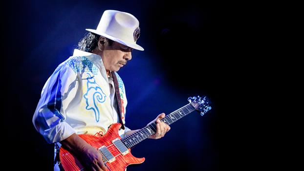 Santana / Earth, Wind & Fire: Miraculous Supernatural 2021 Tour (may have changed)